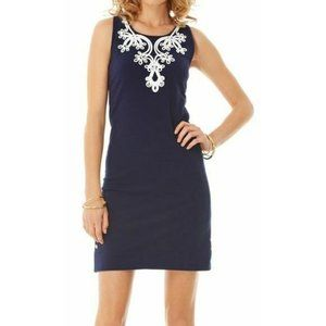 Lilly Pulitzer Navy French Terry Shift. Size: S.